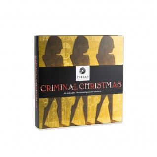 Peters Adventskalender Criminal Christmas III mit Alkohol 255g