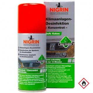 NIGRIN Performance Klimaanlagen Desinfektion Einfache Anwendung 100ml