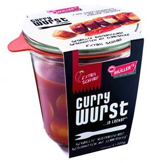 Müller's - Currywurst ...in lecker extra scharf - 200g