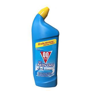 00 WC Aktiv Gel 3in1 Cool c, 750 ml