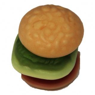 Trolli Mini Burger mehrschichtig Schaumzucker und Fruchtgummi 10g