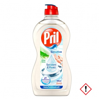 Pril Sensitive Geschirrspülmittel Aloe Vera 500 ml 14er Pack