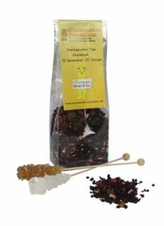 Sternzeichen Tee Steinbock mit Kandiszucker Erdbeer Sahne 100g