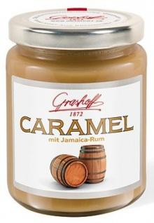 Grashoff CARAMEL Caramel-Creme mit Jamaica-Rum 250 g