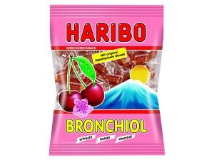 Haribo der Klassiker Bronchiol Kirsche mit echtem Minzöl 100g