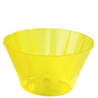 """50 Eis- und Dessertbecher, PS rund 500 ml Ø 13 cm · 7, 5 cm gelb """" Royal"""""""