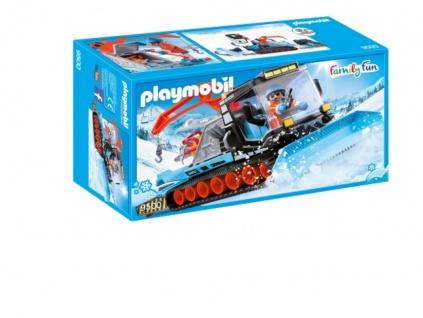 Playmobil Pistenraupe Kettenfahrzeug Schnee Raupenfahrzeug 9500