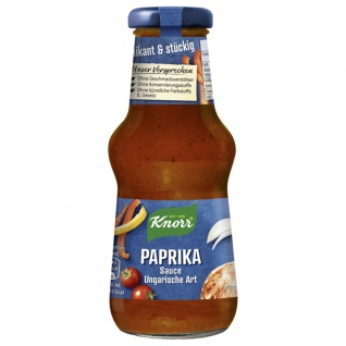 Knorr Parikasauce ungarische Art pikant fruchtiger Geschmack 250ml