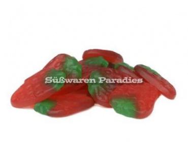 Weingummi Erdbeerem ohne Gelatine ein süßer Erdbeergeschmack 1000g