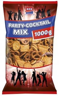XOX Cocktailmix Mischung aus gesalzenem Laugen und Weizengebäck 1000g