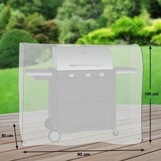Premium Schutzhülle für Gasgrill/Gasgrillküche/Grillwagen Größe S (90 x 60 cm) - Vorschau