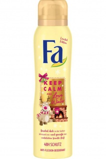 Fa Deospray Keep Calm and Love Winter Anti Flecken Deodorant 150ml