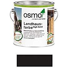 Landhausfarbe schwarzgrau 2500ml