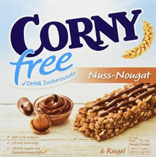 Corny free Nuss-Nougat 6er, 10er Pack (10 x 120 g)
