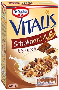Dr. Oetker Vitalis Schoko Müsli, 4er Pack (4 x 600 g)