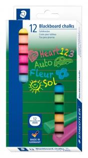 Wandtafelkreide Sortiment 12 Farben