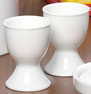 Ritzenhoff & Breker Snap Bianco mit Fuß Porzellan weiß 6 Stück