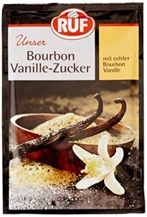 Ruf Bourbon-Vanille-Zucker, 11 x 3er Pack