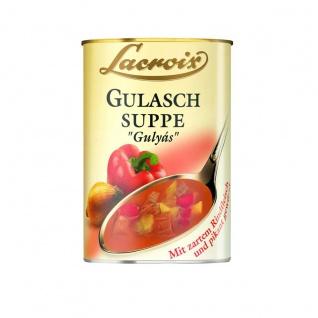 Lacroix Gulaschsuppe Gulyas Tafelfertige Suppe 400ml 3er Pack