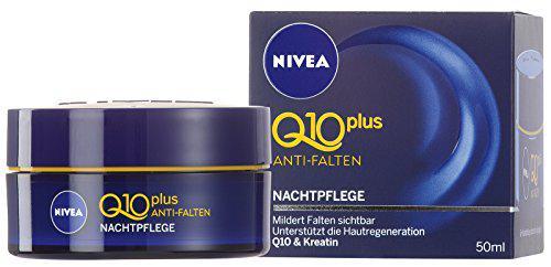 Nivea Visage Q10 Plus Anti-Falten Nachtpflege, Gesichtspflege, 1er Pack (1 x 50 ml)