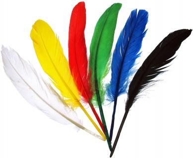 Indianerfedern 17-20 cm