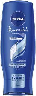 Nivea Haarmilch Spülung Regeneration für normales Haar 200ml 6er Pack