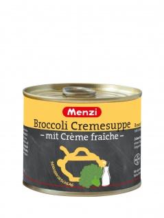 Menzi Broccoli Creme Suppe mit Creme fraiche Gemüsesuppe 200ml