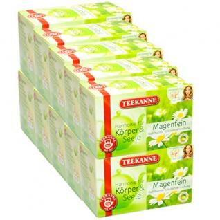 Teekanne Harmonie für Körper und Seele Magenfein Teebeutel 10er Pack