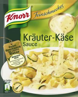 Knorr Feinschmecker Kräuter-Käse Sauce, 7er Pack (7 x 250 ml)