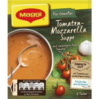 Maggi Für Genießer Tomaten Mozzarella Suppe mit feinem Basilikum 59g