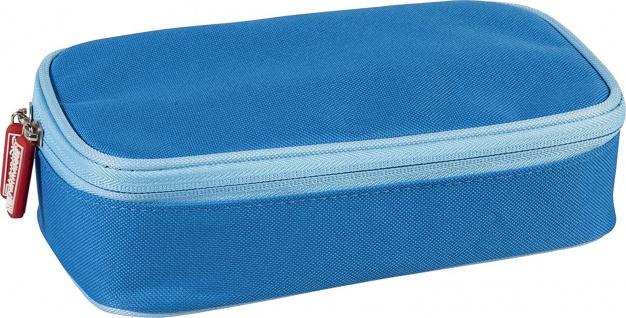 Brunnen Schüler Combi Etui Colour Code mit 7 Stiftschlaufen in blau
