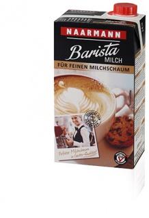 Naarmann Barista Milch 1.5 Prozent Fett für feinen Milchschaum 1000ml