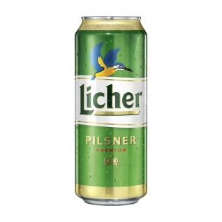 Licher Pilsner Premium Bier aus dem Herzen der Natur EW Dose 500ml
