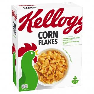 Kelloggs Corn Flakes der knusprige Klassiker Frühstückscerealien 360g