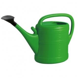 Gießkanne 14 l grün mit Aufsteckvorrichtung hochwertiger Kunststoff