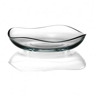 Ritzenhoff und Breker Teller Wave aus hochwertigem Glas 16cm