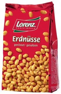 Lorenz Bahlsen Snack World Erdnüsse geröstet und gesalzen 200g