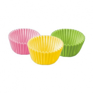 Mini Backförmchen Pralinenförmchen farbig sortiert 300 Stück