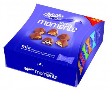 Milka Zarte Momente Oreo einzeln verpackte Pralinen Alpenmilch 159g