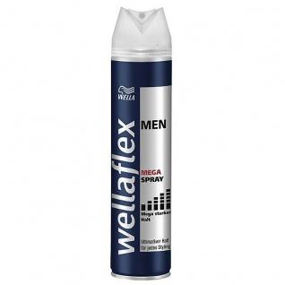 Wellaflex men Haarspray Mega starker anhaltender Halt 250ml 6er Pack