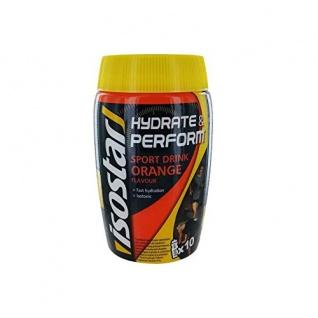 Isostar Hydrate & Perform Orange Flavour Pulver Dose mit 400g