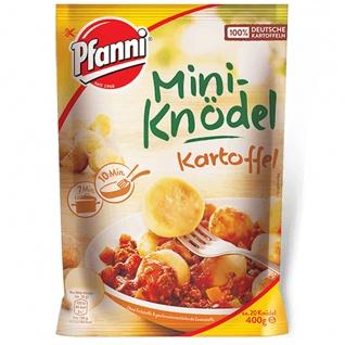 Pfanni Mini Kartoffel Knödel aus besten Kartoffeln ca. 20 Stück 400g