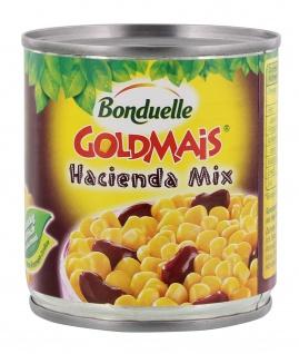 Bonduelle Goldmais Hacienda Mix mit Kidneybohnen 170g 6er Pack