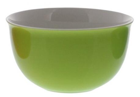 Müslischale DOPPIO Apfelgrün H 8cm Dm 14cm
