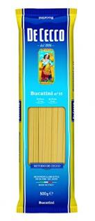De Cecco Bucatini No 15 Italienische Nudeln aus Hartweizengriess 500g