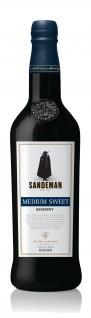 Les Grands Chais de France Sandeman Sherry medium sweet 750ml 3er Pack