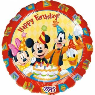 Mickey & Friends Happy Birthday