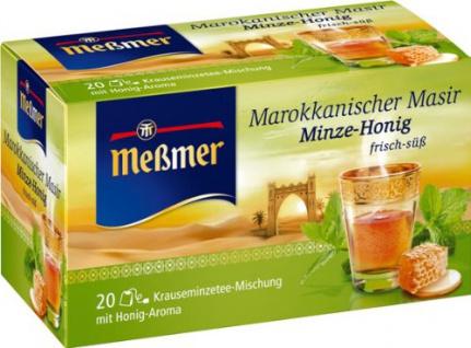 Meßmer Marokkanischer Masir Minze Honig 20 Teebeutel 5er Pack