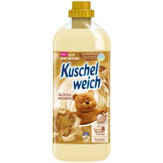 Kuschelweich Weichspüler Glücksmoment für 33 Waschladungen 1L