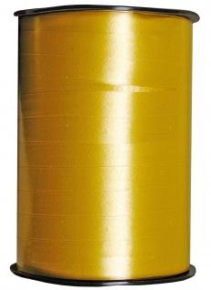 Kraeuselband glatt gold 250 m